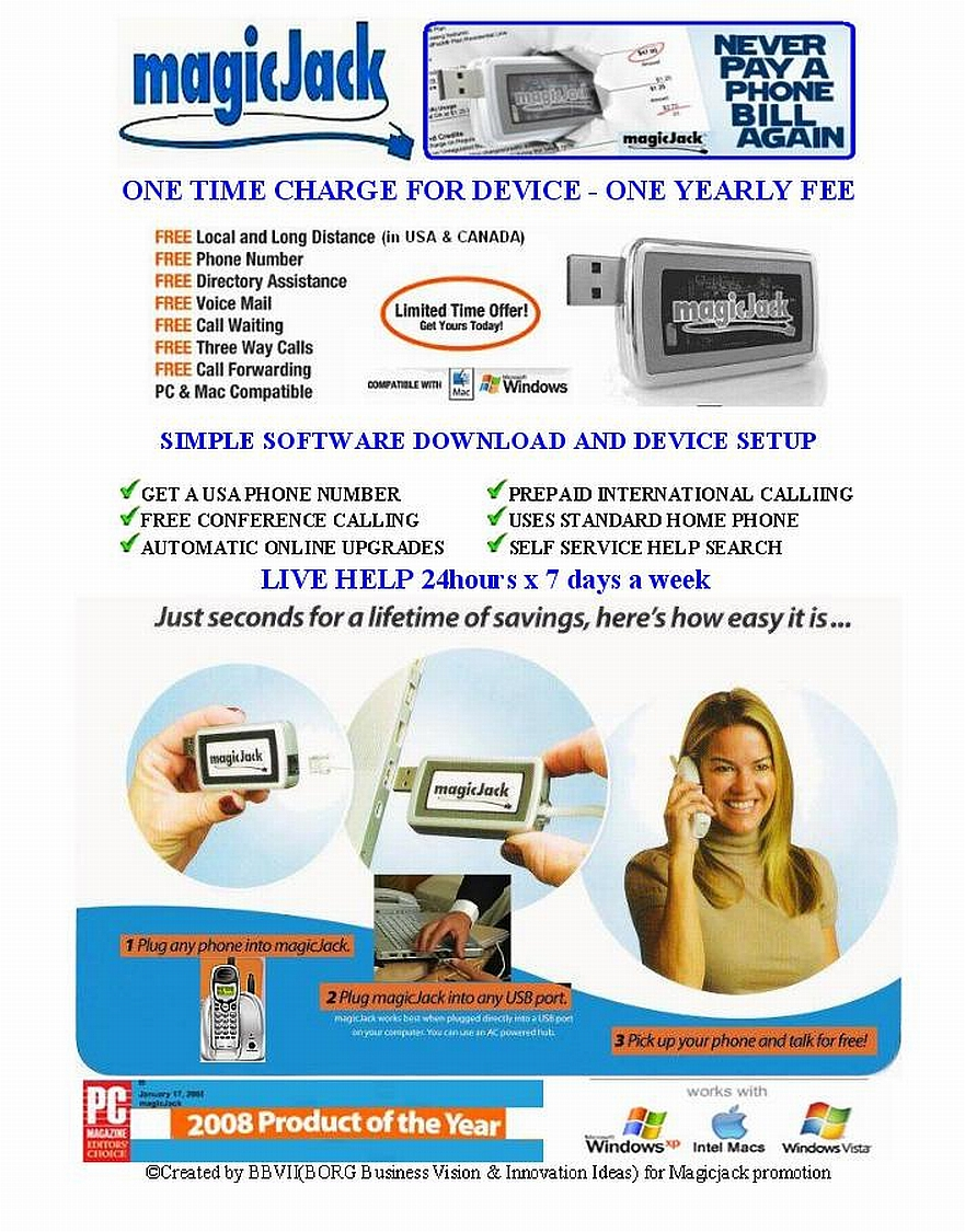 MagicJack - Your OWN VOIP